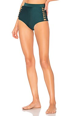 Melody High Waisted Bikini Bottom Zimmermann $195