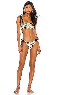 Veneto Tie Bandeau Bikini Zimmermann $250 Collections
