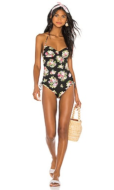 Honour Ruched One Piece Zimmermann $107