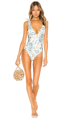 d7431b80e850e0 Verity Tie One Piece Zimmermann $315 ...