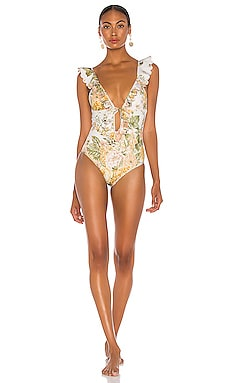 Amelie Frill One Piece Zimmermann $320 NEW