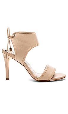 Zimmermann Tie Back Sandal in Nude
