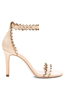 Zimmermann Lace Ankle Heel in Nude