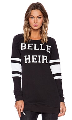 Zoe Karssen Belle Heir Sweatshirt in Black