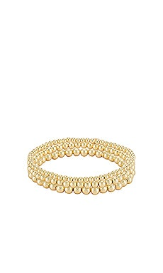 Bead Bracelet Stack Zoe Lev $180 NUEVO
