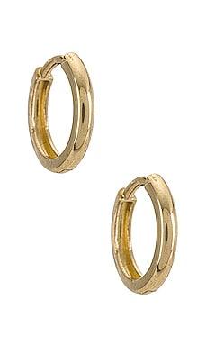 14k Gold Small Huggie Earrings Zoe Lev $160 BEST SELLER