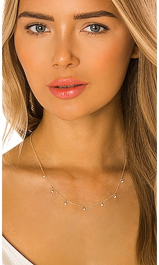 Drop Bezel Diamond Necklace Zoe Lev $740