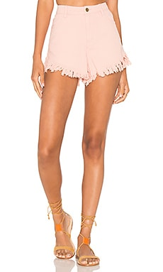 Sundowner Fray Short in Pink