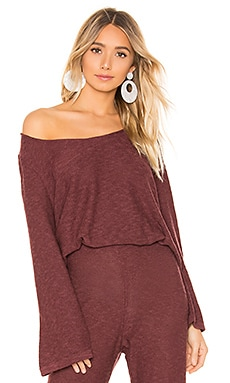 X Revolve Lounge Top ZULU & ZEPHYR $44 (FINAL SALE)
