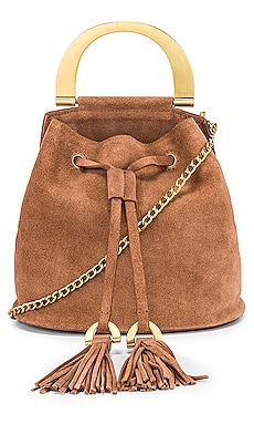 Biba Buckle Soft Bucket Crossbody Zac Zac Posen $350 NEW ARRIVAL