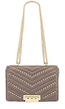 Soft Earthette Medium Chain Shoulder Bag Zac Zac Posen $495