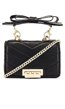 Soft Earthette Mini Chain Shoulder Bag Zac Zac Posen $295