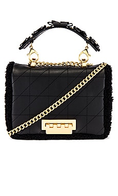 Earthette Small Soft Chain Shoulder Bag Zac Zac Posen $395
