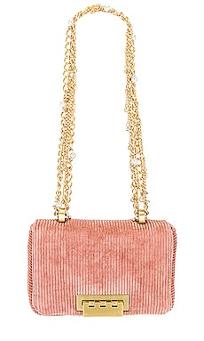 Soft Earthette Mini Charm Shoulder Bag Zac Zac Posen $395