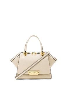 Zac Zac Posen Eartha Soft Double Handle Mini Bag in White