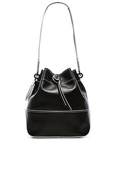 Zac Zac Posen Eartha Envelope Drawstring Bag in Black