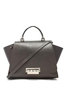 Zac Zac Posen Eartha Iconic Soft Top Handle Bag in Charcoal