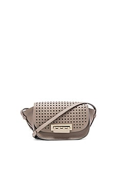 Zac Zac Posen Eartha Iconic Accordion Crossbody in Mink