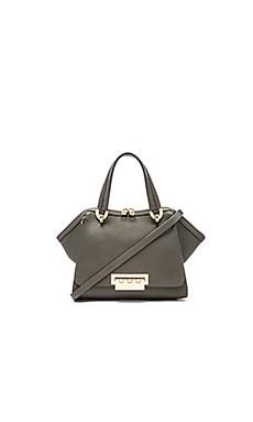 Zac Zac Posen Eartha Iconic Small Double Handle Bag in Olive