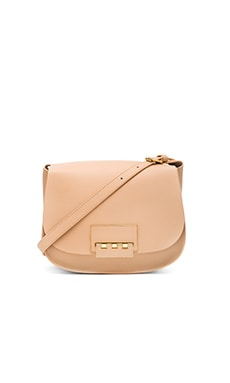 Eartha Iconic Saddle Bag en Beurre