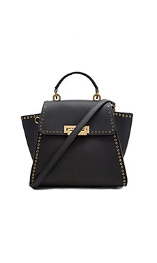Zac Zac Posen Eartha Iconic Convertible Grommets Backpack in Black