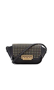 Zac Zac Posen Eartha Iconic Accordion Crossbody Bag in Black