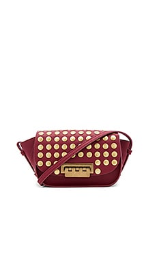 Eartha Iconic Accordion Crossbody Bag in Cardinal