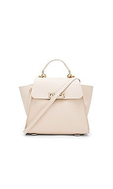 Eartha Iconic Convertible Solid Backpack in Ivory