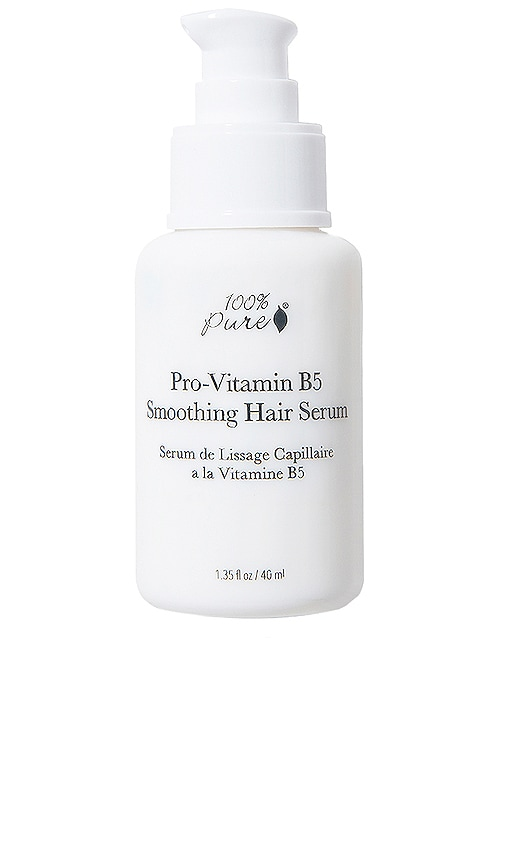 100% PURE Pro-Vitamin B5 Smoothing Hair Serum in N/A