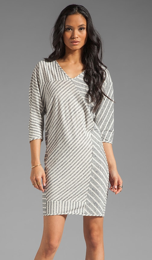 Seamed Tee Shirt Dress