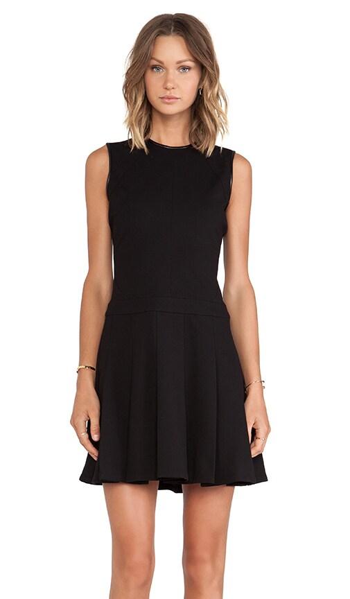 Seam Details Fit & Flare Dress