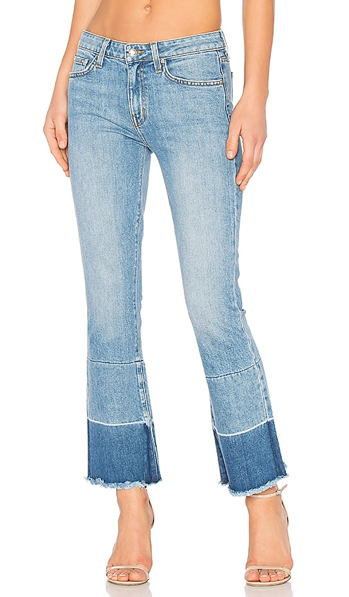DEREK LAM 10 CROSBY Flare Jeans in Light Wash
