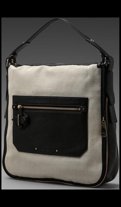 Canvas & Leather Crosby Bag