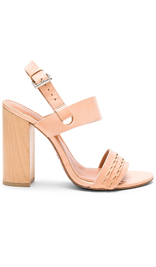 DEREK LAM 10 CROSBY Mandy Heel in Natural Vacchetta