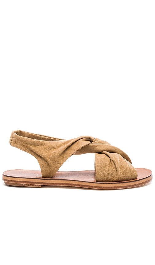 DEREK LAM 10 CROSBY Pell Sandal in Tan