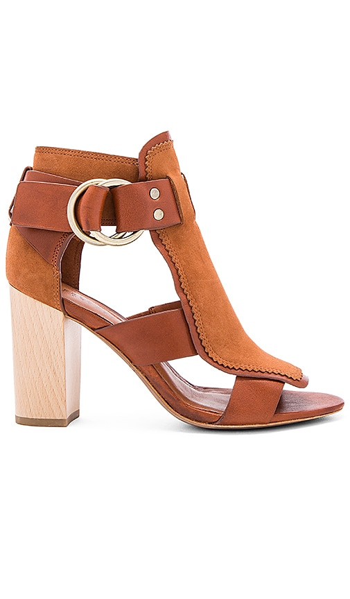 DEREK LAM 10 CROSBY Marya Heel in Rust