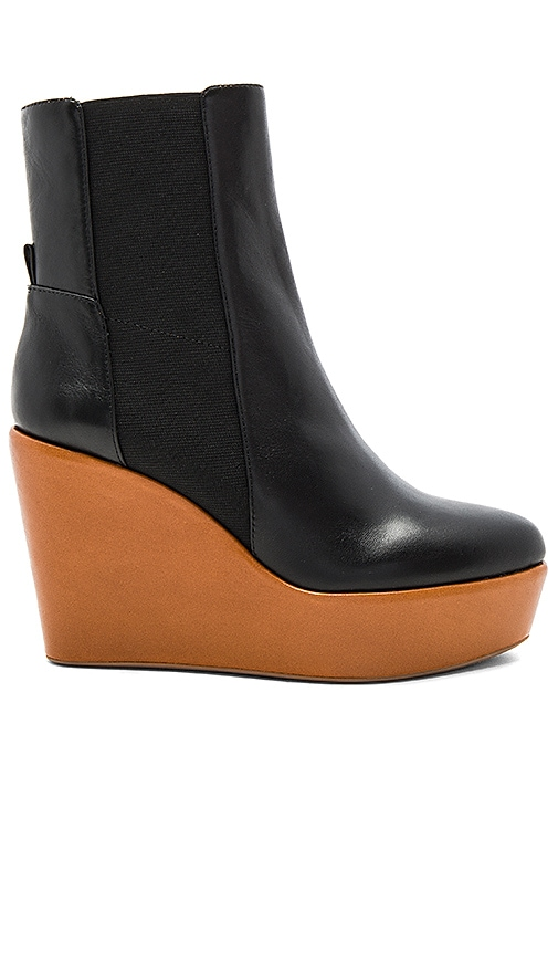 DEREK LAM 10 CROSBY Sandy Too Bootie in Black
