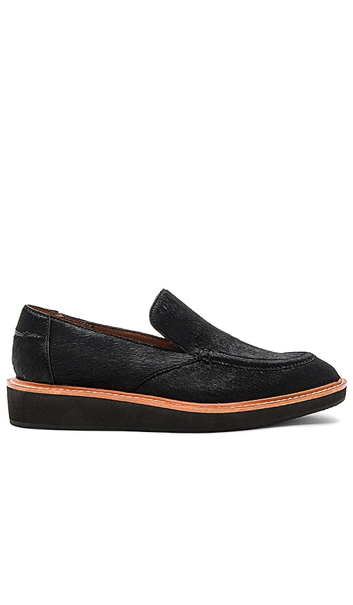 DEREK LAM 10 CROSBY Dana Calf Hair Loafer in Black