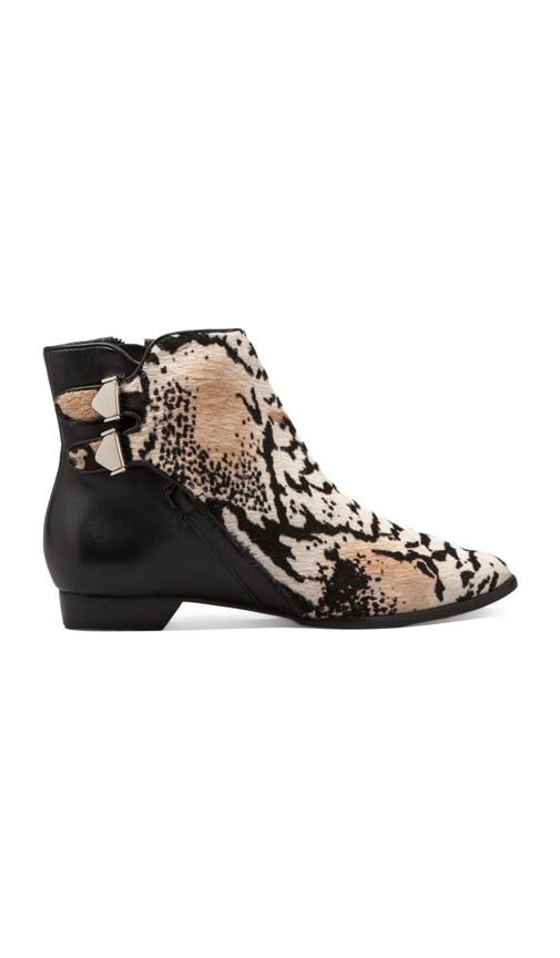 Annabell Haircalf Leather Bootie