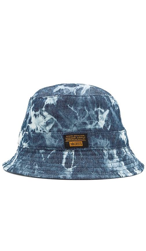 10 Deep Thompson's Bucket Hat in Blue Tie Dye