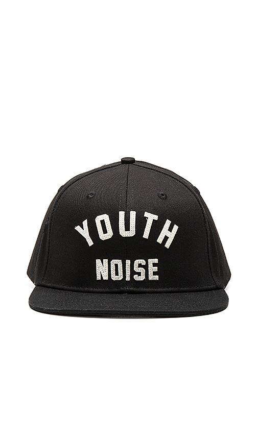 10 Deep Youth Noise Belt Back Hat in Black