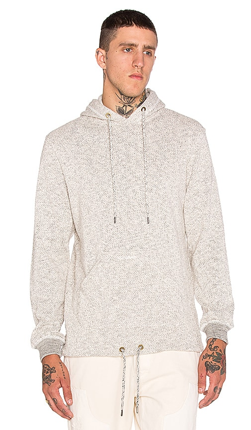 10 Deep Division Open Bottom Hoody in Natural Marl