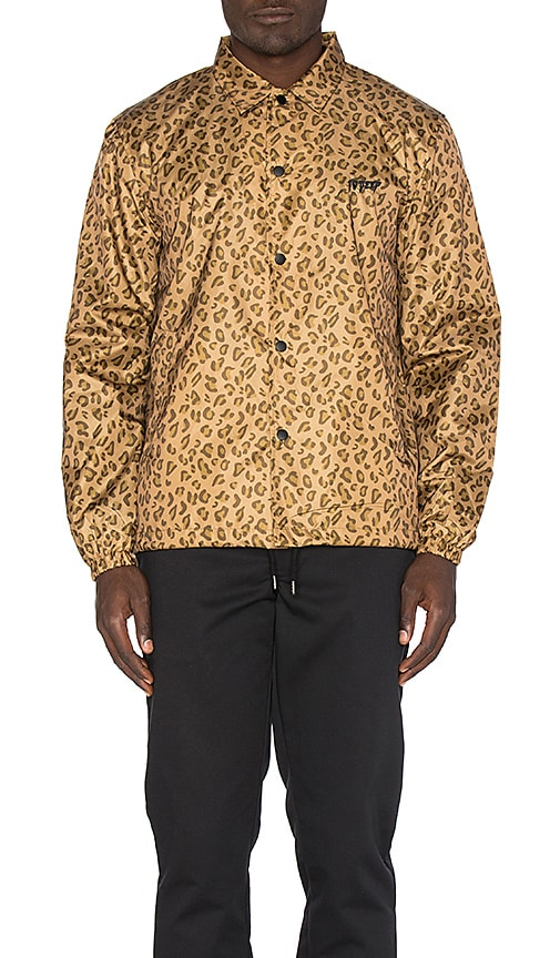 10 Deep Sound & Fury Coaches Jacket in Brown