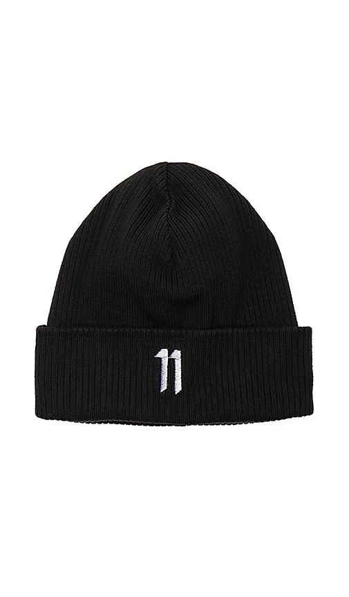 11 by Boris Bidjan Saberi Beanie in Black