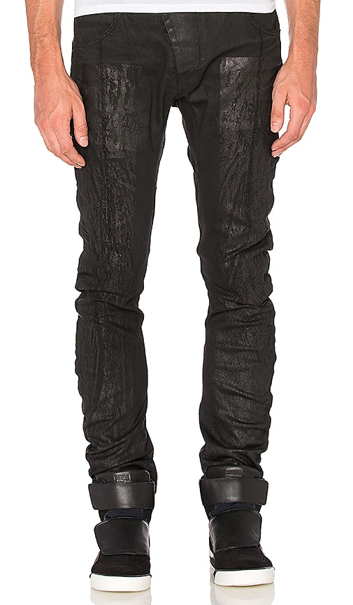 11 by Boris Bidjan Saberi Jeans in Black