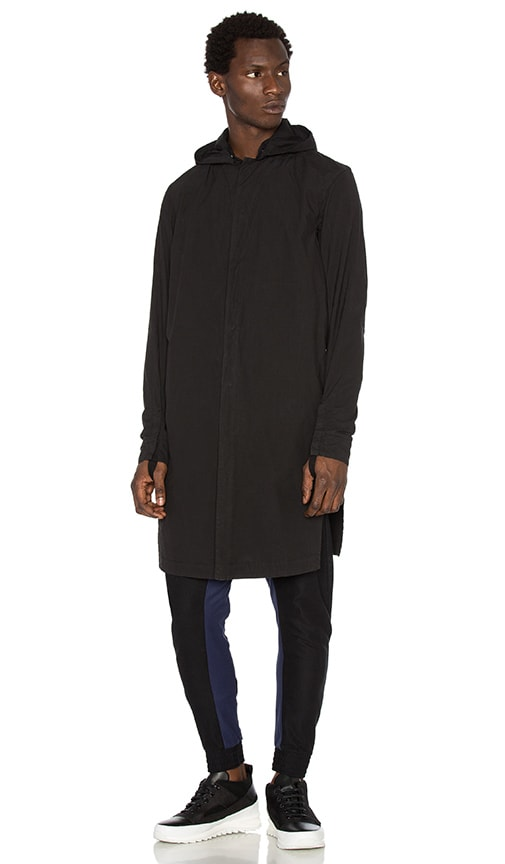 11 by Boris Bidjan Saberi Graphic Jacket in Black