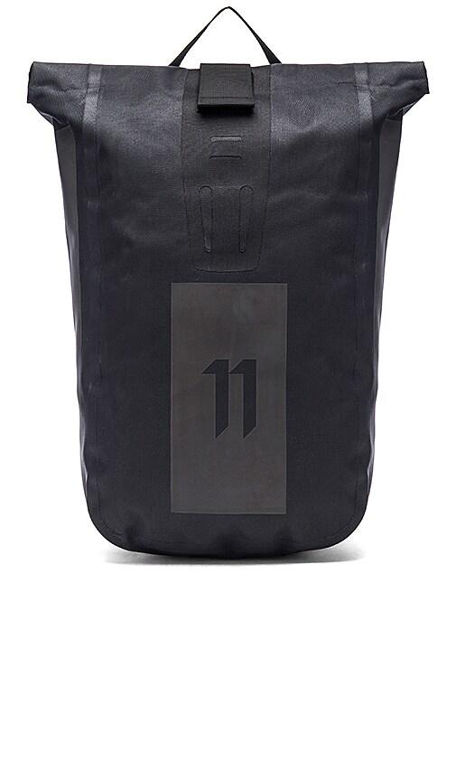 11 by Boris Bidjan Saberi Velocity Backpack in Black