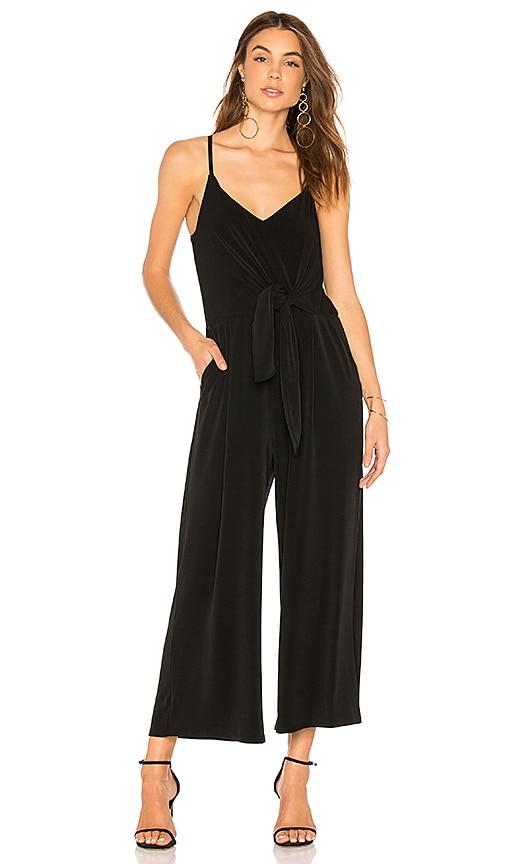 b9ef1b49411 1. STATE Tie Waist Jumpsuit in Rich Black