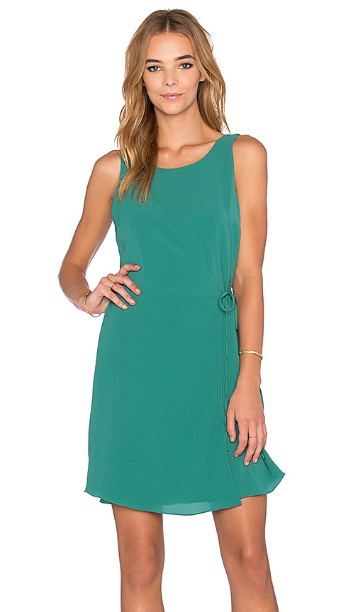 1. STATE Wrap Front Dress in Bonsai