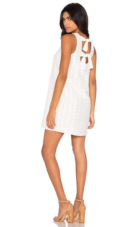 1. STATE Shift Dress in White